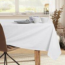 DecoKing Tischdecke 150x300 cm Baumwolle Glatt