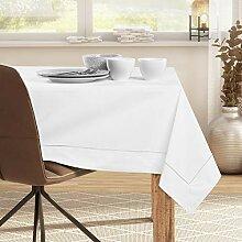 DecoKing Tischdecke 160x220 cm mit Briefecke und