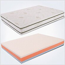Decolcomania Jigen Matratze Bett 120x 200Memory mehrschichtige Waterfoam und Gel Höhe 25cm