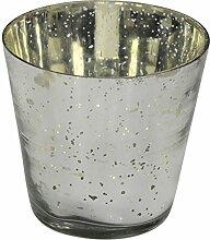 Decoline Runde Teelicht-Gläser 3 Stück