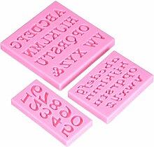 DeColorDulce sg1850Backform Alphabet und Zahlen,