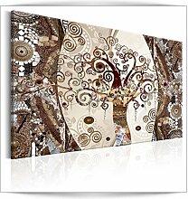 decomonkey Bilder Abstrakt Gustaw Klimt 90x60 cm 1