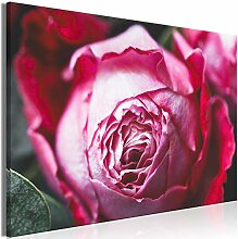 decomonkey Bilder Blumen 120x80 cm 1 Teilig