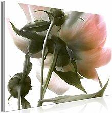 decomonkey Bilder Blumen 90x60 cm 1 Teilig