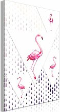 decomonkey Bilder Flamingo 80x120 cm 1 Teilig