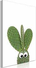 decomonkey Bilder Kaktus 80x120 cm 1 Teilig