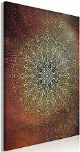 decomonkey Bilder Mandala 80x120 cm 1 Teilig