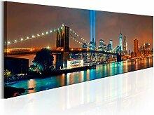 decomonkey Bilder New York 120x40 cm 1 Teilig