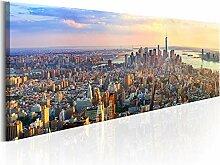 decomonkey Bilder New York 135x45 cm XXL 1 Teilig