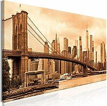 decomonkey Bilder New York 150x50 cm 1 Teilig