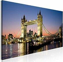decomonkey Bilder Stadt Panorama 150x50 cm 1