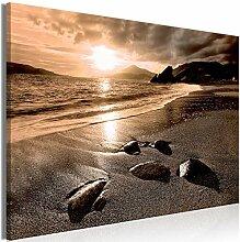 decomonkey Bilder Strand Meer 90x60 cm 1 Teilig