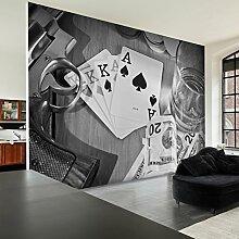 decomonkey Fototapete 3d 300x210 cm XXL Design