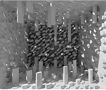 decomonkey Fototapete Abstrakt 350x256 cm XXL
