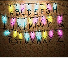 decomonkey Fototapete Alphabet 300x210 cm Design
