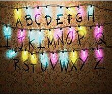 decomonkey Fototapete Alphabet 400x280 cm Design