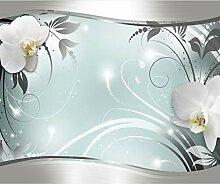 decomonkey Fototapete Blumen Orchidee 400x280 cm