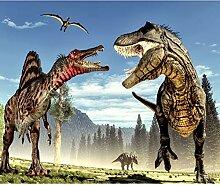 decomonkey Fototapete Dinosaurier 100x70 cm XL