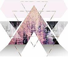 decomonkey Fototapete Geometrisch Abstrakt 300x210