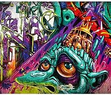 decomonkey Fototapete Graffiti Street art 250x175