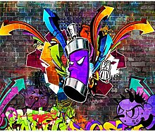 decomonkey Fototapete Graffiti Street Art 400x280