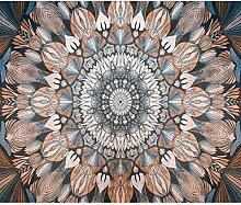 decomonkey Fototapete Mandala 250x175 cm Design