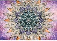 decomonkey Fototapete Mandala 350x256 cm Wandbild