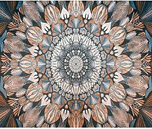 decomonkey Fototapete Mandala 400x280 cm Design