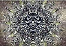 decomonkey Fototapete Mandala 400x280 cm Wandbild