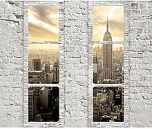 decomonkey Fototapete New York 200x140 cm XL