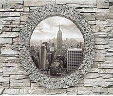decomonkey Fototapete New York 250x175 cm XL