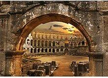decomonkey Fototapete selbstklebend Amphitheater