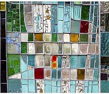decomonkey Fototapete selbstklebend glasseffect