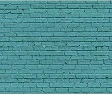 decomonkey Fototapete selbstklebend Steinwand