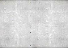 decomonkey Fototapete Steinwand 250x175 cm XL