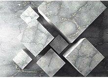 decomonkey Fototapete Steinwand Stein 250x175 cm