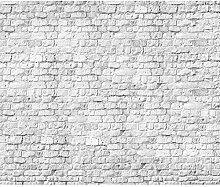 decomonkey Fototapete Steinwand Stein 400x280 cm