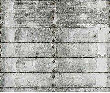 decomonkey Fototapete Steinwand Steine 350x256 cm