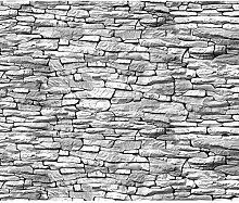 decomonkey Fototapete Steinwand Ziegel 250x175 cm