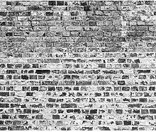 decomonkey Fototapete Steinwand Ziegel 300x210 cm