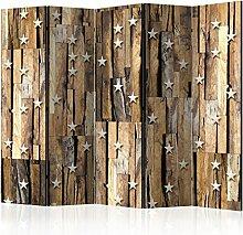decomonkey Paravent Raumteiler XXL Einseitig Holz