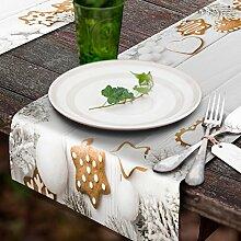 decomonkey Tischlaufer Vlies 150x50 cm |