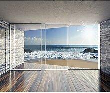 decomonkeyFototapete Fenster zum Meer Strand Sonne