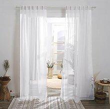 Deconovo Gardinen für Schlafzimmer, 213,3 cm