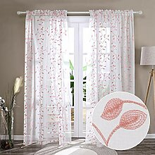 Deconovo Gardinen für Wohnzimmer, Schlafzimmer,