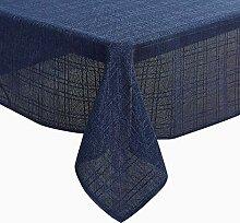 Deconovo Leinenoptik Lotuseffekt Tischwäsche
