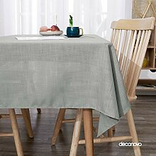 Deconovo Lotuseffekt Tischwäsche Wasserabweisend