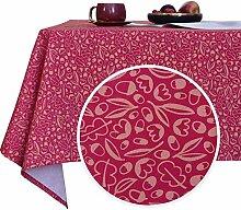 Deconovo Lotuseffekt Tischwäsche Weihnachten