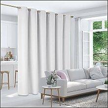 Deconovo Raumteiler-Vorhang mit Ösen, 1 Bahn