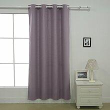 Deconovo Thermo-Vorhang für Schlafzimmer, 1